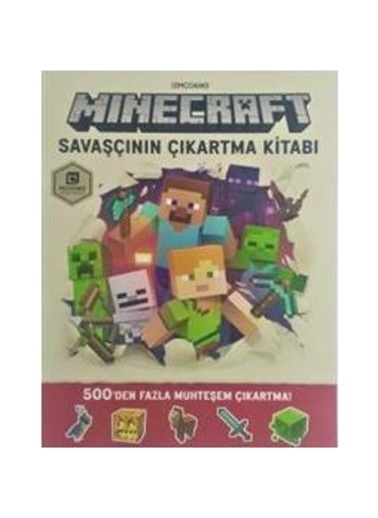 Morhipo kitap Minecraft - Savaşçının Çıkartma Kitabı Renkli